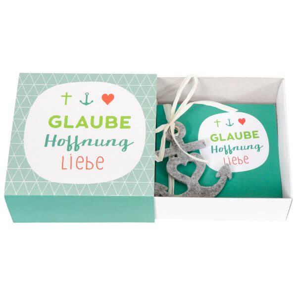 Geschenkbox Glaube Hoffnung Liebe