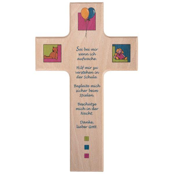 Holzkreuz Dankesgebet