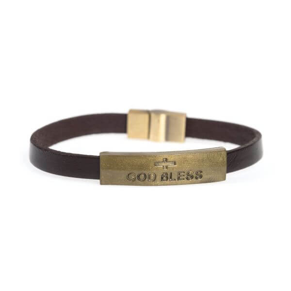 Armband Antik God bless