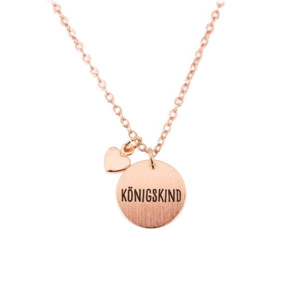 Halskette Königskind Herz