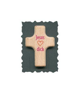Handschmeichler Kreuz Jesus liebt dich
