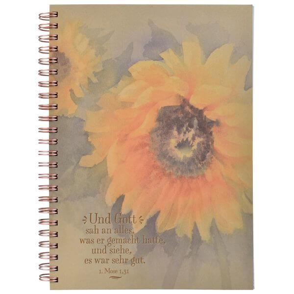 Notizblock ECO Sonnenblume