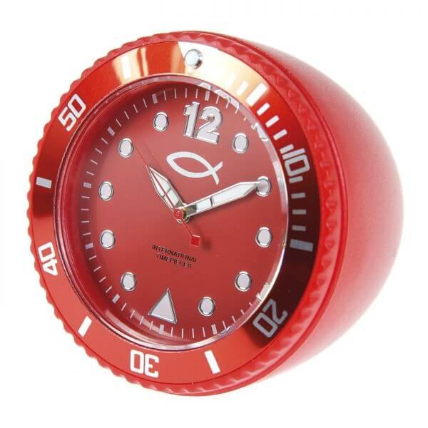 5505 Tischuhr rot
