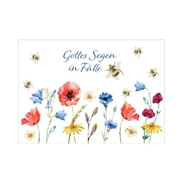 Postkarte Gottes Segen