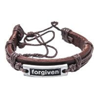 Leder Armband Forgiven