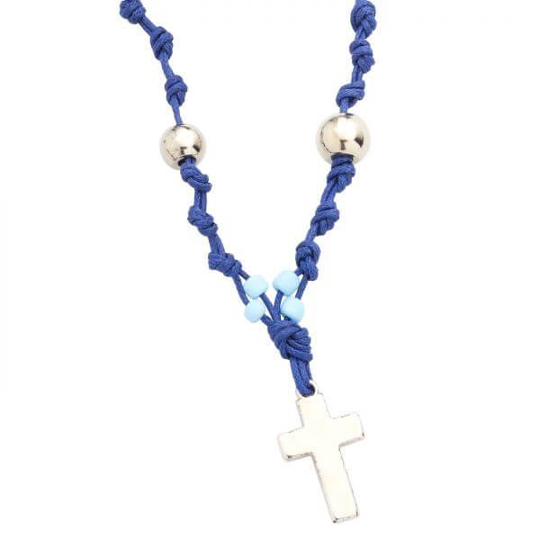 Halskette Perlen Kreuz