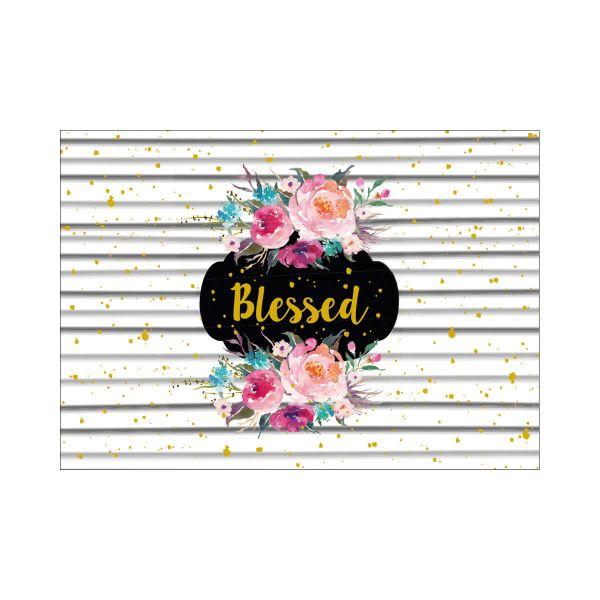 Postkarte Blessed