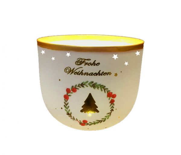 Adventsbecher Tanne