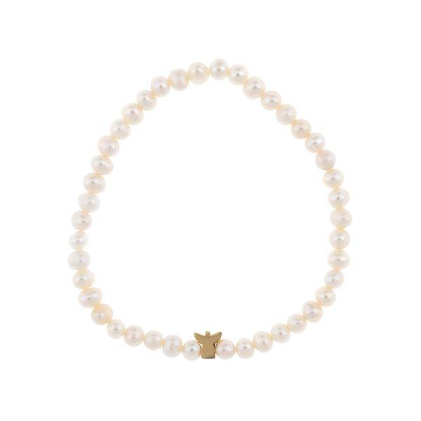 Perlen- Armband Engel