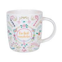 Tasse Du bist wunderbar