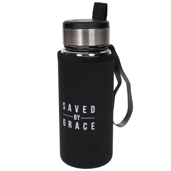 Trinkflasche Saved by Grace
