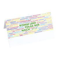 8609 Tischkarte