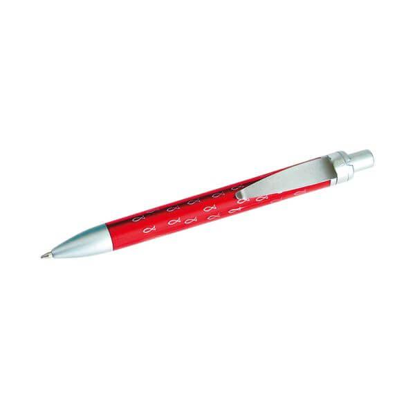 Kugelschreiber Fischdesign rot