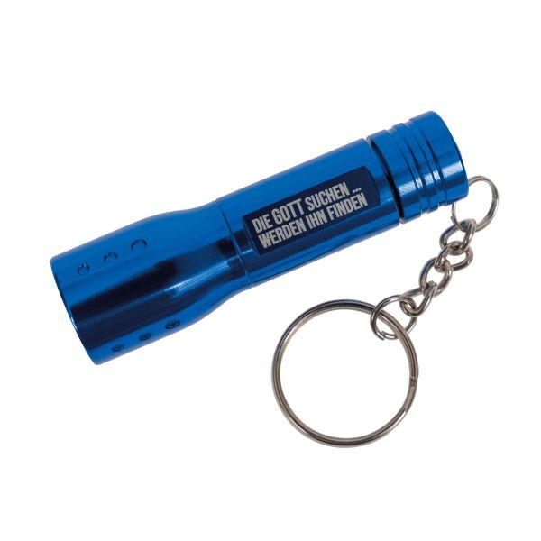 Pocket-Taschenlampe blau