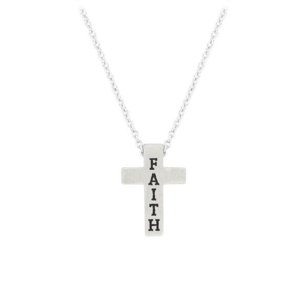 Halskette Kreuz Faith