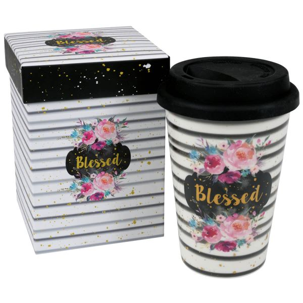 To-Go-Becher Blessed