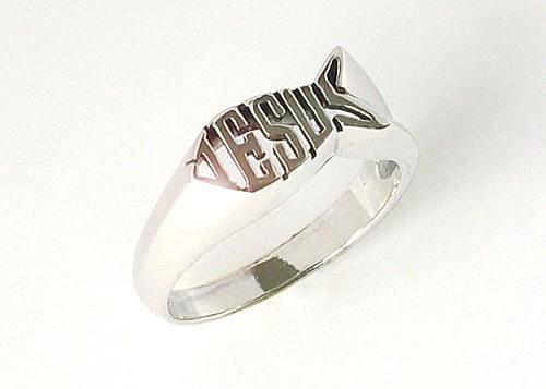 Ring Fisch/Jesus