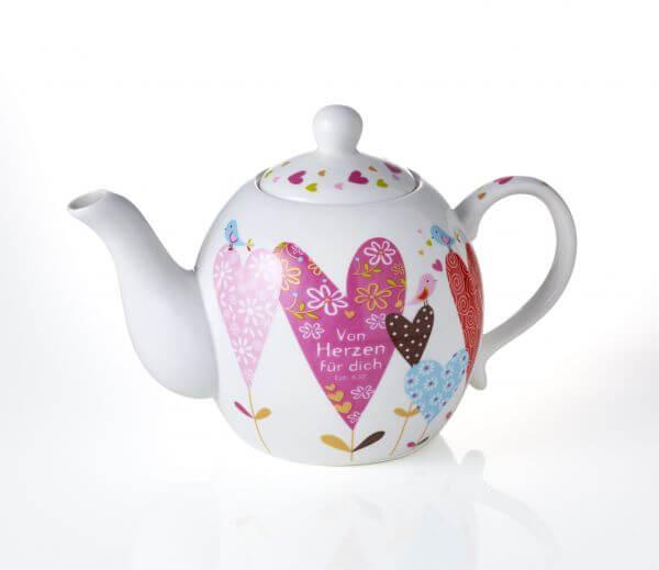 Tassen-Praisent-Teekanne Von Herzen-5351
