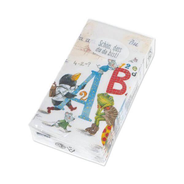 Taschentuecher ABC