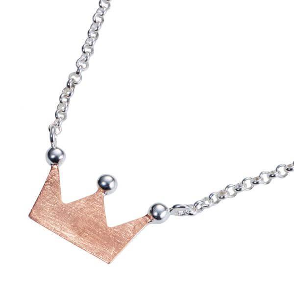 Anhänger Krone mit Halskette
