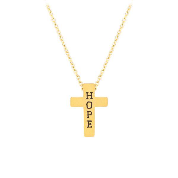 Halskette Kreuz Hope