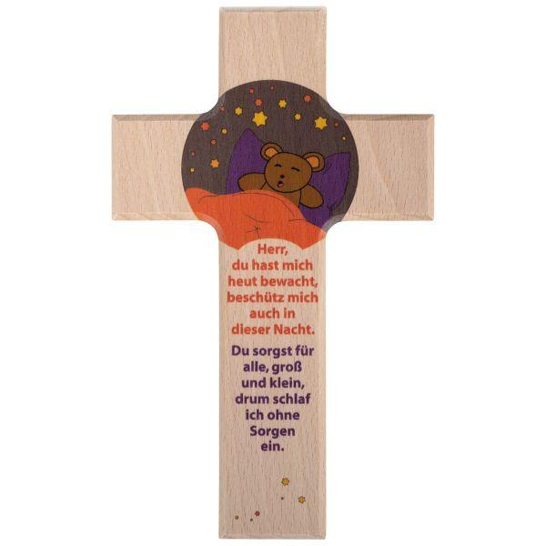 Holzkreuz Abendgebet