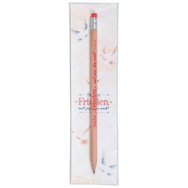 Bleistift mit Lesezeichen Jahreslosung 2019