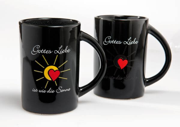 Kaffeebecher Gottes Liebe