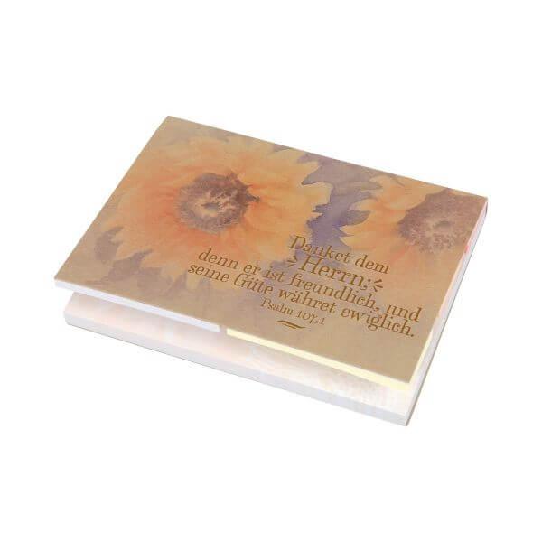 Haftnotizen Set ECO Sonnenblume