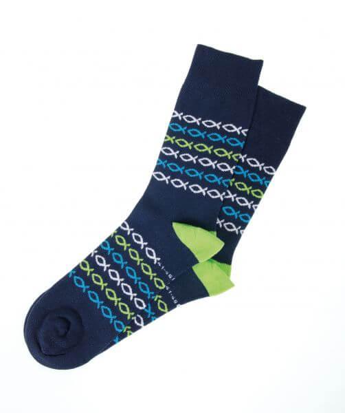 Socken Strümpfe Ichthys