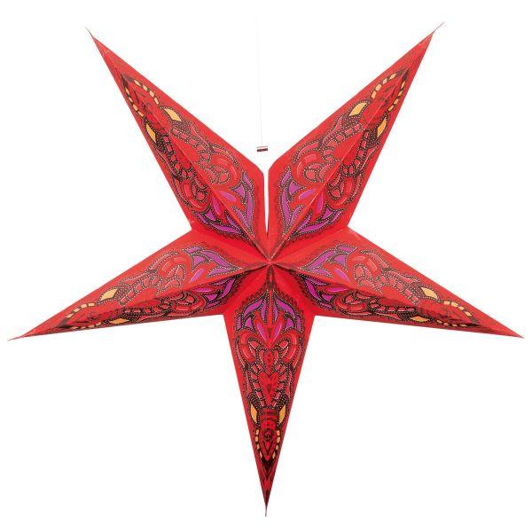 Papier Stern rot