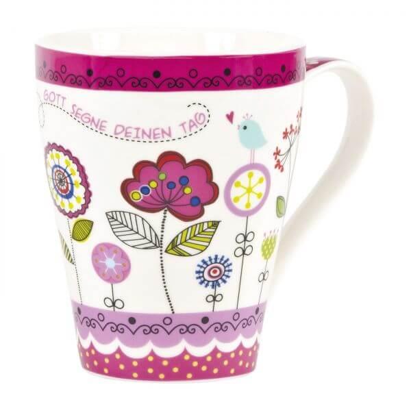 Tasse Blüten