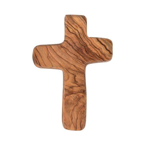 Handschmeichler Olivenholz Kreuz
