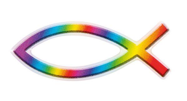Aufkleber Regenbogenfisch