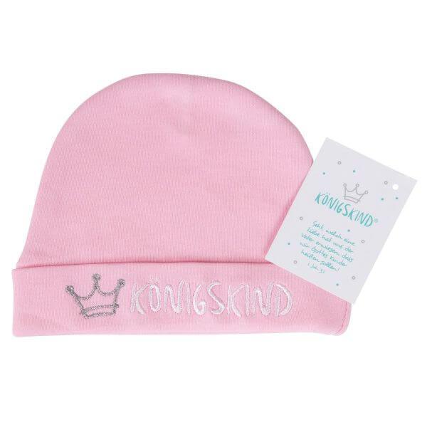 Mütze Königskind rosa