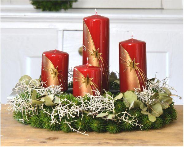 Weihnachtskerzen Set