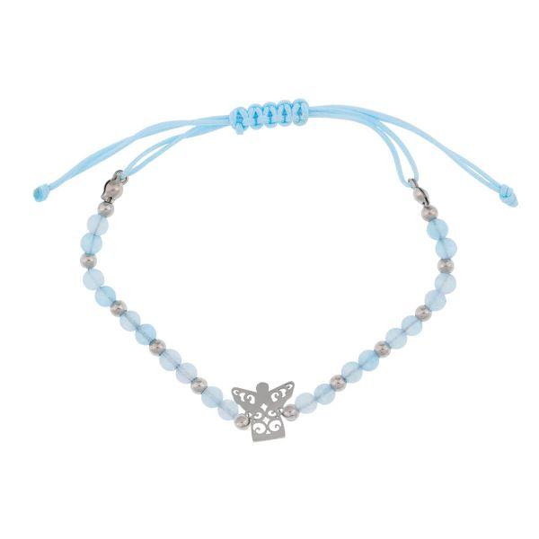 Echtstein-Armband Engel