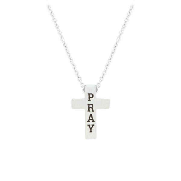 Halskette Kreuz Pray
